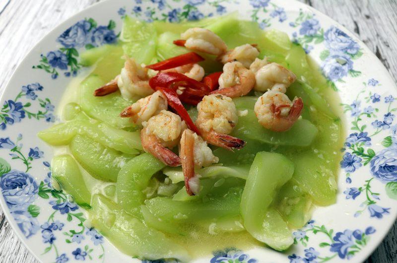 Stir-Fried Shrimp with Cucumbers 虾仁炒黄瓜