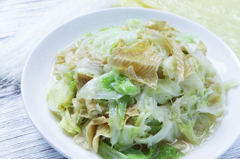 Vegan Stir-Fried Cabbage 包菜斋