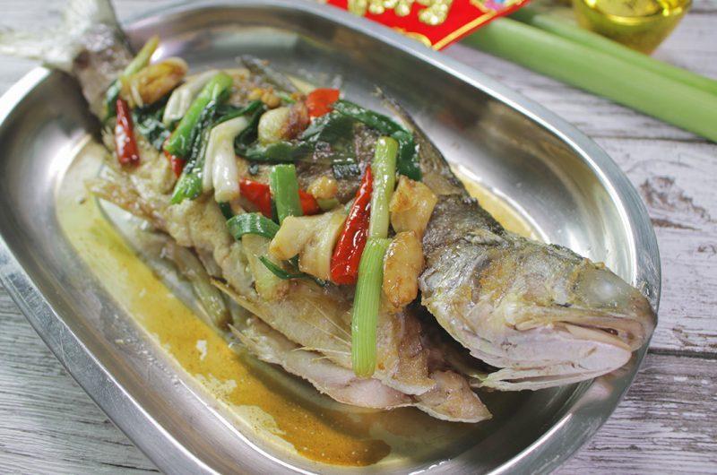 Fried Threadfin (Ma Yau) 煎马友鱼