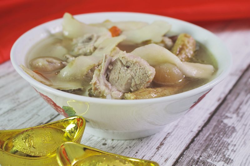 Spare Ribs Soup with Chinese Herbs 滋补药材汤