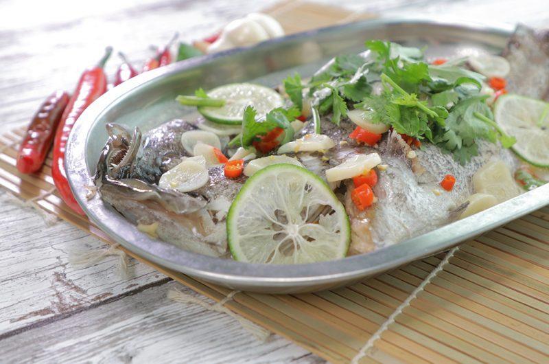 Thai Steamed Garoupa Fish 泰式蒸石斑鱼