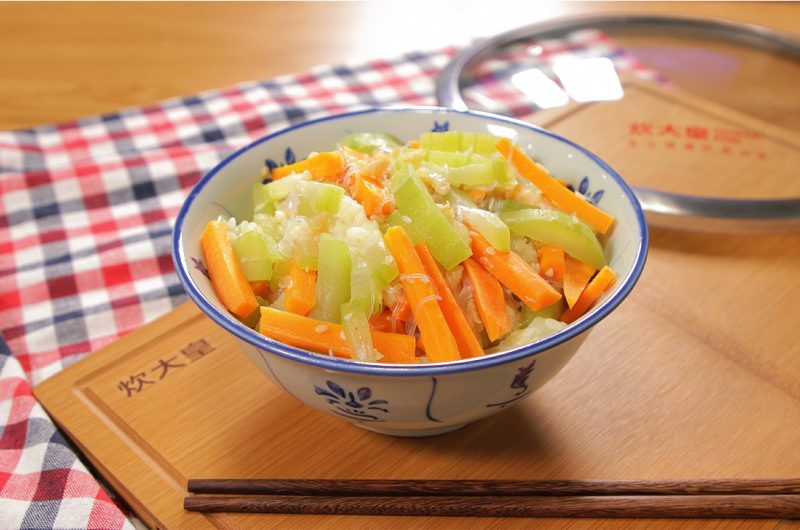 Stir-Fried Hairy Marrow with Dried Shrimp 虾米炒节瓜