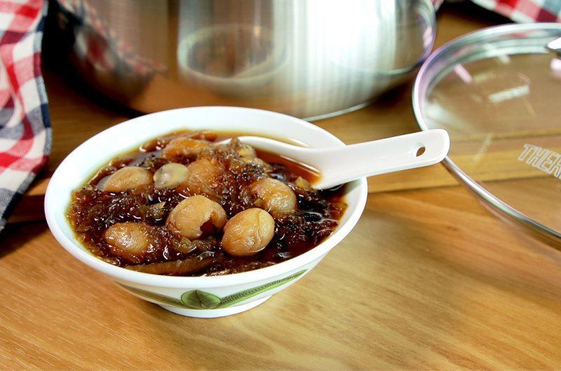 Winter Melon Dried Longan with 3 Treasures Dessert 养颜三宝冬瓜龙眼糖水