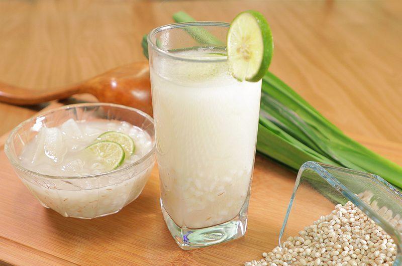 Barley & Candied Winter Melon Drink 冬瓜糖薏米水