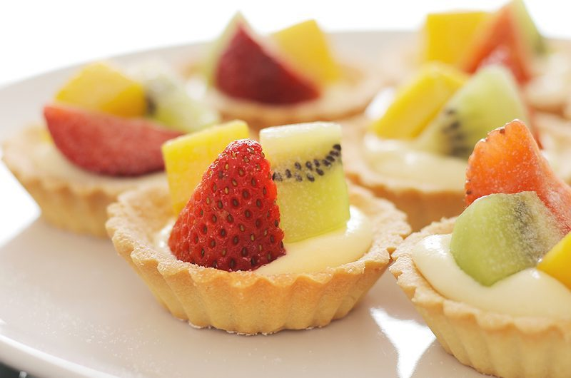 Mini Fruit Tarts 水果塔
