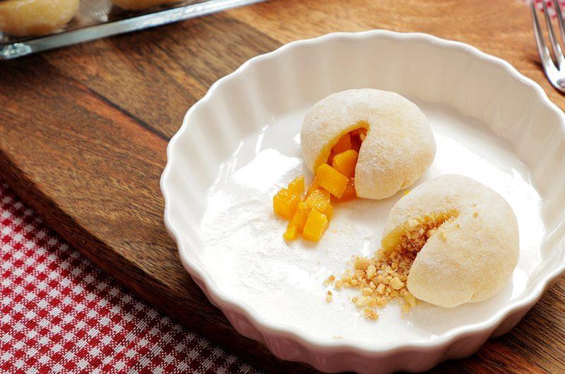 Mango & Peanut Mochi 简易糯米糍
