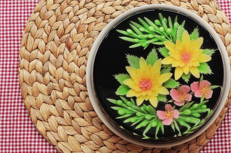 3D Jelly Art Cake 水晶果冻花
