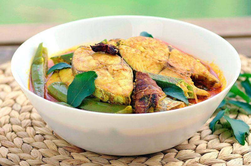 Tamarind Fish Curry (Gulai Mackerel Fish) 印度式咖喱鱼