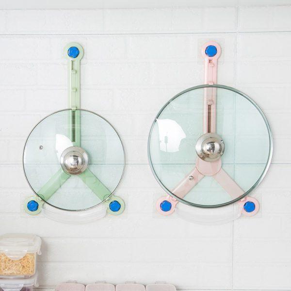 Kitchen Pot Lid Wok Cover Hanger
