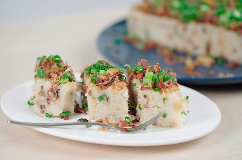 Chinese Radish Cake (Lo Bak Go)  港式萝卜糕