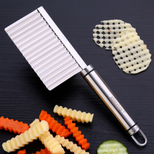 SSGP Stainless Steel Crinkle Wavy Cutter