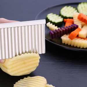 Stainless Steel Crinkle Wavy Cutter