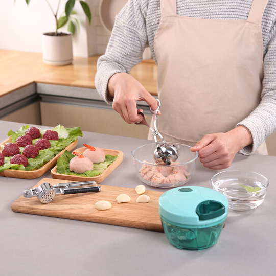 SSGP Stainless Steel Fish Meatball Scoop Maker