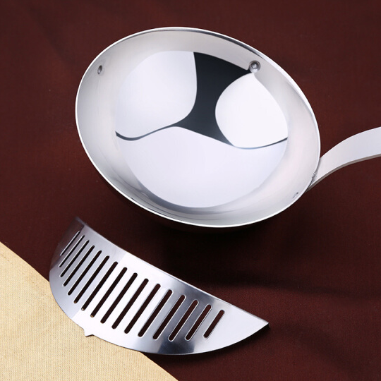 SSGP Stainless Steel Ladle with Soup Residue Filter