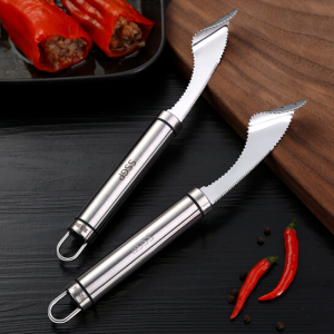 SSGP Stainless Steel Vegetable Cutter Corer Chilli Seed Remover