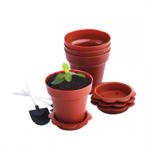 Zoe Home Baking Flowerpot Cake Moulds (Set of 3)