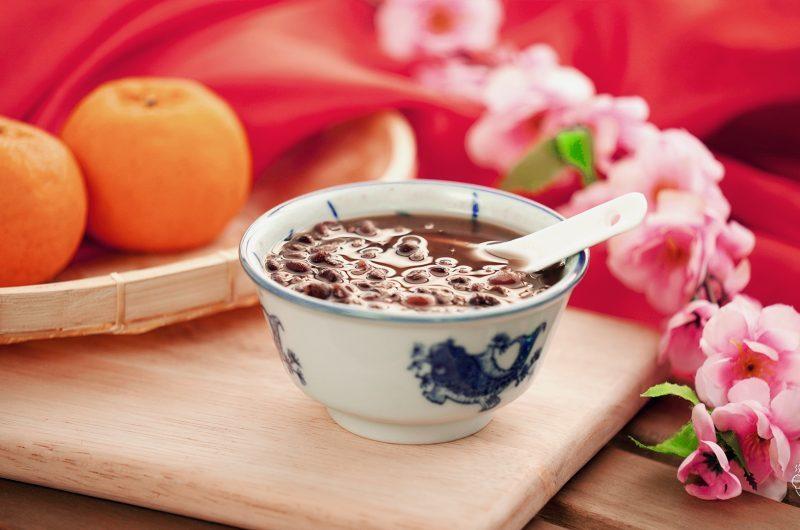 Red Bean Soup with Mandarin Peel 柑皮红豆汤