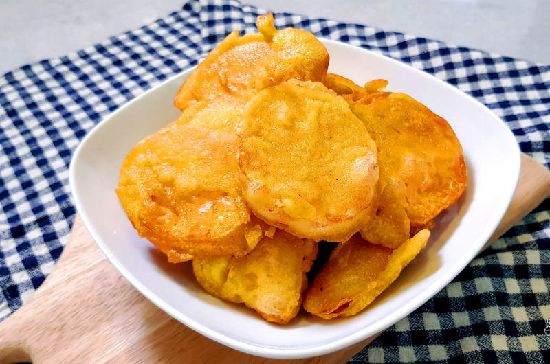 Crispy Fried Sweet Potato 马来式炸橙薯