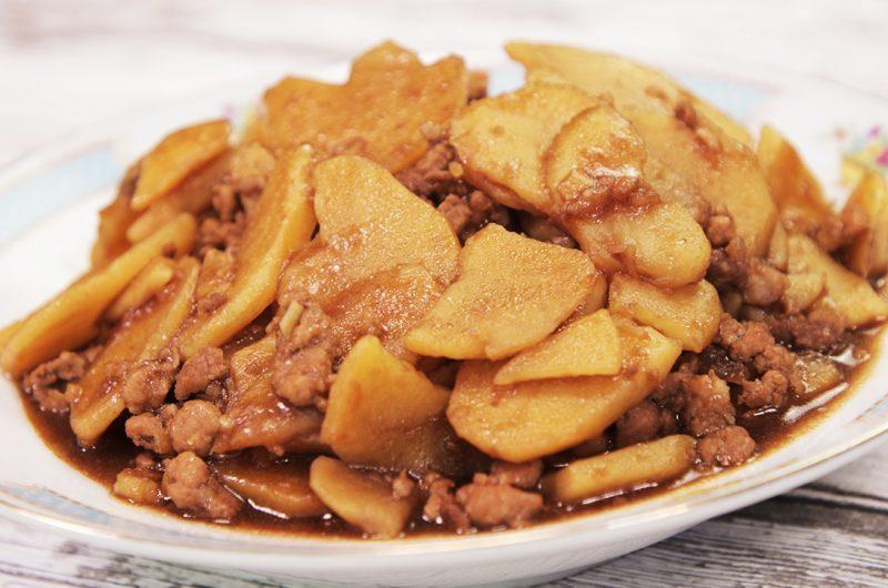 Potato & Minced Pork Stew 马铃薯焖肉碎