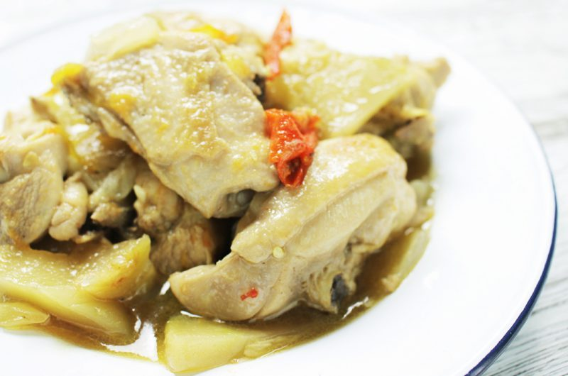 Braised Chicken with Zha Cai 榨菜焖鸡