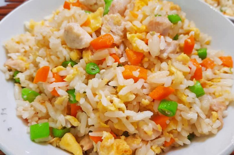 Simple Chinese Fried Rice 家乡炒饭