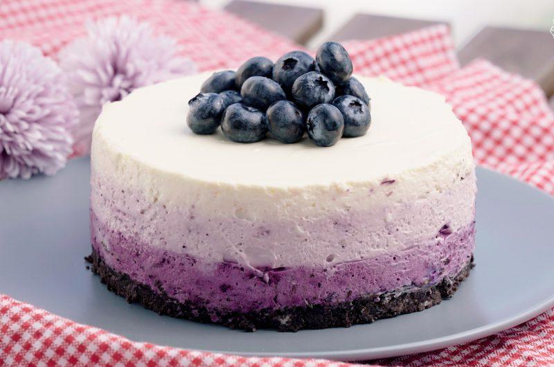 Blueberry Cheese Cake 蓝莓芝士蛋糕