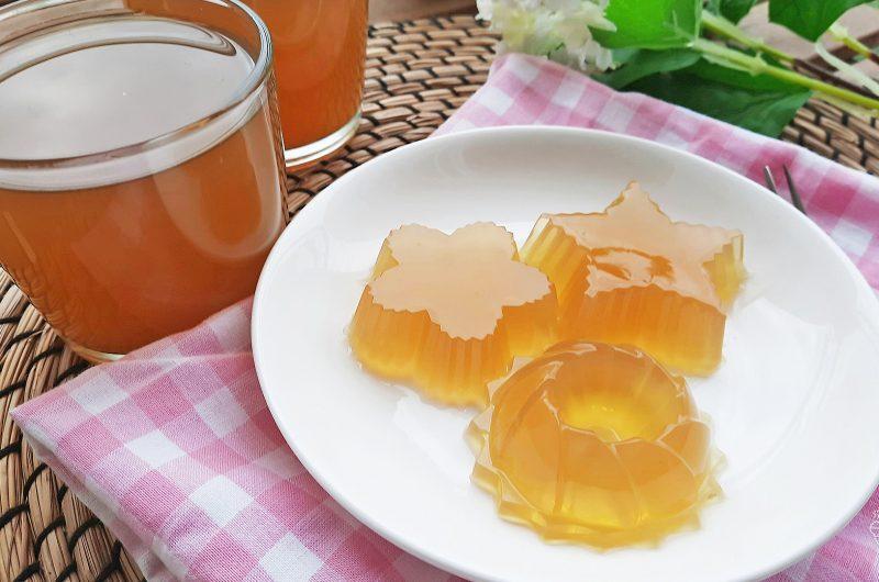 Chrysanthemum Tea Agar-Agar Jelly 菊花茶燕菜糕