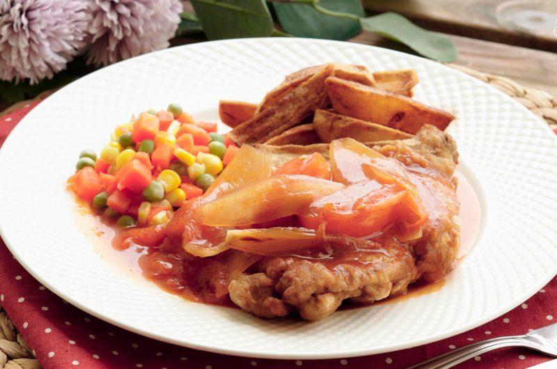 Hainanese Chicken Chop 海南鸡扒